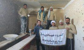 گزارش تصویری فعالیت عمرانی گروه جهادی وصال