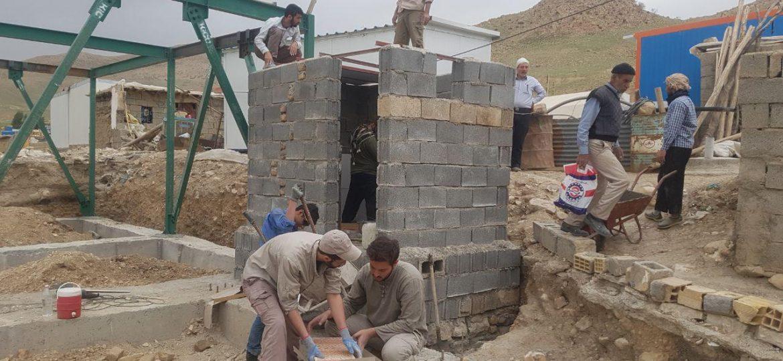 گزارش تصویری گروه جهادی بنیان المرصوص در روستای الیاسی احمد