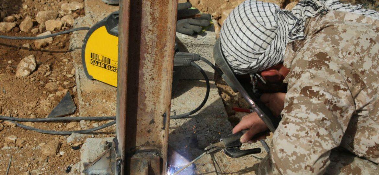 گزارش تصویری فعالیت های عمرانی گروه های جهادی  در دشت ذهاب