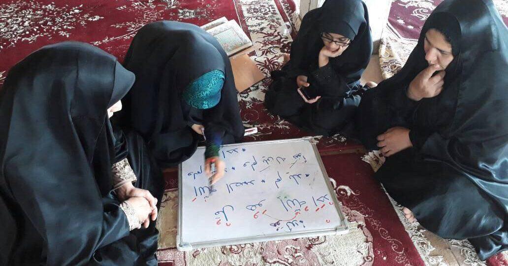 گزارش تصویری فعالیت فرهنگی خواهران گروه جهادی امام صادق