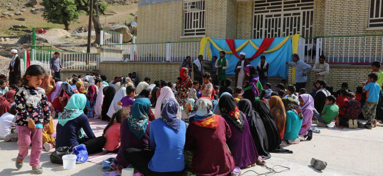 گزارش تصویری فعالیت فرهنگی گروه جهادی مسافران خورشید