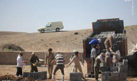 گزارش تصویری فعالیت عمرانی گروه های جهادی خراسان جنوبی در مناطق محروم نهبندان