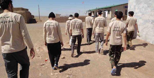 فعالیت گروههای جهادی سفیران نظام در روستاها