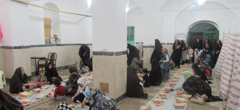 گرارش تصویری برگزاری مراسم شبهای قدر در روستای کوه سفید توسط دانشجویان جهادی دانشگاه فرهنگیان قم
