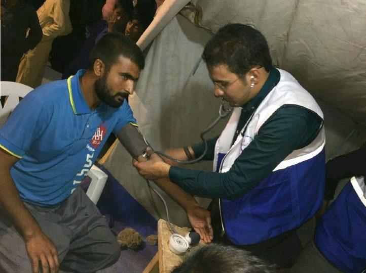 گزارش تصویری خدمات پزشکی دانشجویان جهادی دانشگاه سیستان و بلوچستان در مناتق محروم