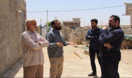 گزارش تصویری دومین مرحله اعزام تیم های شناسایی گروه جهادی افسران ولایت به منطقه بوشکان