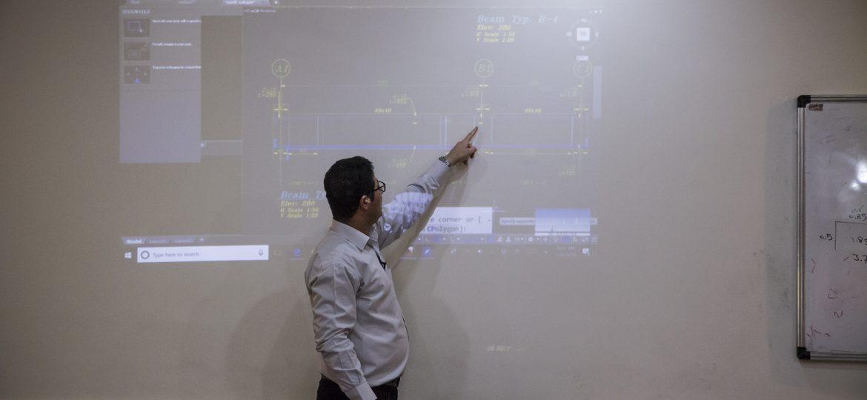 گزارش تصویری دوره تخصصی عمرانی ویژه گروه های جهادی فعال در حوزه عمرانی روز دوم
