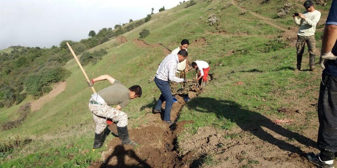 گزارش تصویری تکمیل طرح آب رسانی روستای اسپهبدان توسط گروه جهادی شهید یونس
