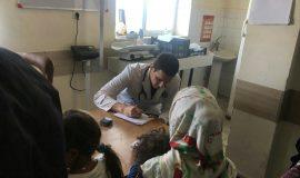 گزارش تصویری اردوی جهادی دانشجویان دانشگاه علوم پزشکی در روستاهای شهرستان ثلاث باباجانی