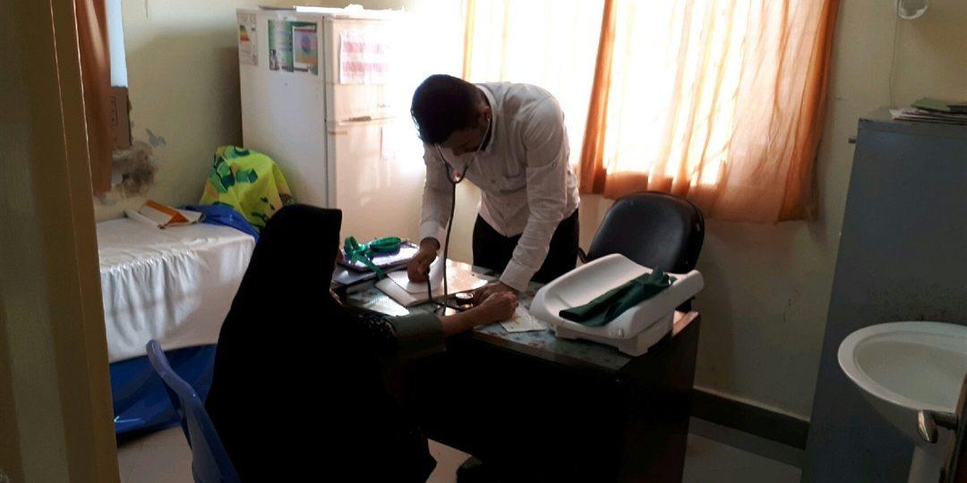 گزارش تصویری فعالیت فرهنگی و پزشکی  گروه جهادی شهید سید محمد اسحاقی