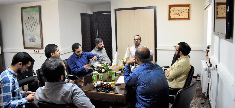 گزارش تصویری جلسه هماهنگی داوران و اساتید نشست هم اندیشی گروه های جهادی با موضوع الگوی اسلامی ایرانی پیشرفت