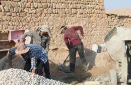گزارش تصویری فعالیت عمرانی گروه جهادی عبرات در شهرستان ایذه
