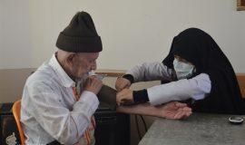گزارش تصویری فعالیت های پزشکی گروه جهادی انصارالزهرا