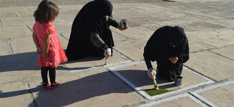 گزارش تصویری فعالیت های فرهنگی گروه جهادی انصارالزهرا