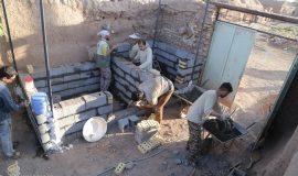 گزارش تصویری فعالیت های عمرانی گروه جهادی انصارالزهرا