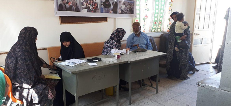 گزارش تصویری خدمات پزشکی و دندانپزشکی توسط گروه جهادی انصارالزهرا(س)