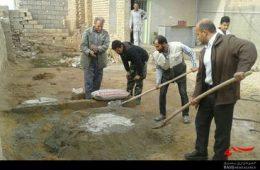 برگزاری اردوی جهادی گروه شهید همت در روستای هونستان+ تصاویر