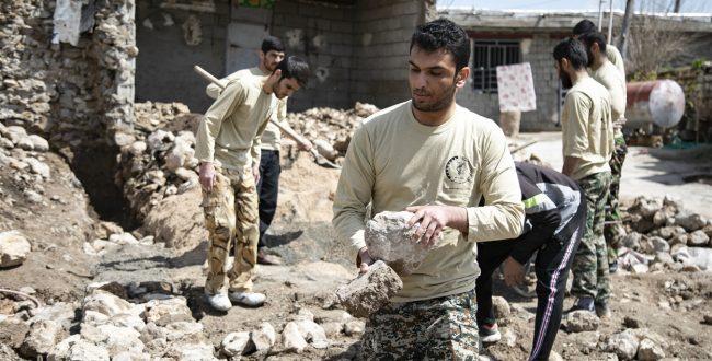 ساخت 500 واحد مسکونی برای سیل زدگان توسط جهادگران قمی