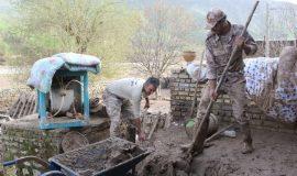 گزارش تصویری خدمات رسانی قرارگاه حضرت معصومه (س) در روستای دوآب