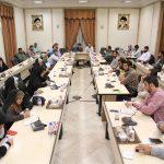 هشتمین نشست اندیشه ورزی جهادی با موضوع بررسی وضعیت معیشت محرومین و راهکارهای حمایتی از مردم