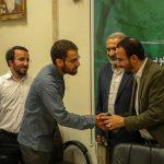 مراسم تکریم و معارفه مسئول سازندگی بسیج دانشجویی تهران بزرگ