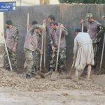 گزارش تصویری خدمت رسانی گروه های جهادی سازمان بسیج سازندگی استان ایلام به سیل زدگان استان در بهار۹۸