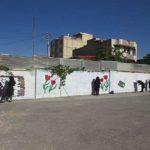 زیباسازی مدرسه حافظ شهرکرد توسط گروه جهادی شهید بهنام محمدی