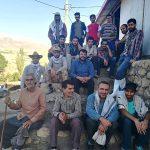 برگزاری اردوی جهادی بسیج مهندسین عمران اصفهان در شهرستان الیگودرز