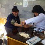 ۲۲۰۰ نفر از روستائیان جنوب کرمان ویزیت رایگان شدند