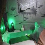 دهمین نمایشگاه مردمی یاس کبود ویژه ایام فاطمیه در پارس آباد اردبیل به همت جوانان جهادی برپا می شود