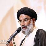 حضور امام جمعه اهواز در جمع جهادگران گروه جهادی