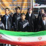 افتتاح مدرسه ساخته شده توسط بسیج سازندگی در روستای قلعه پسیجان شهرستان شازند