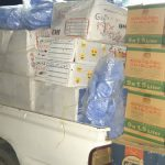 ارسال اولین محموله کمکهای مردمی گچساران به مناطق سیل زده کرمان
