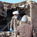 اقدامات جهادی طلاب در مناطق زلزله زده