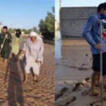 سپاه ریگان با ۳۶ گروه جهادی در مناطق سیل زده مشغول امدادرسانی است
