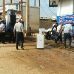 گروه جهادی کارگران شرکت آذرآب اراک در خط مقدم مبارزه با کرونا