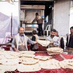 توزیع ۲۰ هزار قرص نان رایگان و ۳۱۳ بسته معیشتی در شب ولادت امام زمان (عج الله) در بردسکن