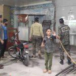 اقدامات کارگروه جهادی سلامت مسجد امام حسین (ع) باوی در مقابله با کرونا