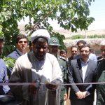 افتتاح ۵واحد مسکونی سیل زده در روستای سنگ پیر
