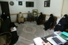 دیدار گروه جهادی خواهران پایگاه شهدای محراب با ایت الله ناصری