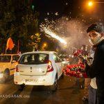 جشن خیابانی عید غدیر در تهران