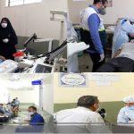ارائه خدمات تخصصی درمانی و بهداشتی گروه جهادی بسیج به زندانیان زندان یاسوج