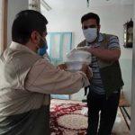 توزیع بسته های غذایی بین نیازمندان شهر چلیچه