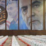 تلاش گروههای جهادی برای زنده نگه داشتن یاد شهید سردار سلیمانی