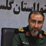 به خط شدن گروه های جهادی به مناسبت هفته دفاع مقدس در گلستان
