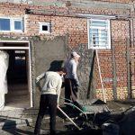 ساخت خانه برای زوج معلول به همت جهادگران آذربایجان غربی