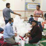 رزمایش کمک مومنانه بسیج دانشجویی شهرستان مرند