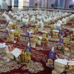 اهدای بستههای معیشتی قرارگاه شهید سلیمانی به نیازمندان البرز