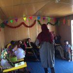 تدریس به کودکان کار توسط دختران جهادی