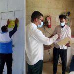 نظارت داوطلبان جهادی بر نحوه اجرای پروتکلهای بهداشتی در اصناف